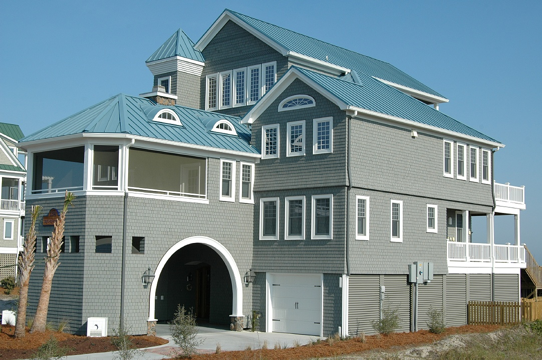 Idyll Two Is A Luxury Vacation Al Located Directly On The Spectacular Beach Of Beautiful Topsail Island In North